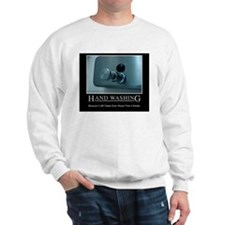 Infection Control Humor 01 Sweatshirt