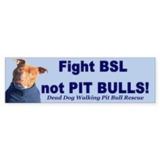 Fight BSL Bumper Bumper Sticker