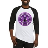 Pentacle of the Purple Goddess Baseball Jersey