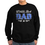World's Best Dad Sweatshirt (dark)