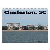 Charleston Wall Calendar