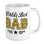 World's Best Dad Large Mug