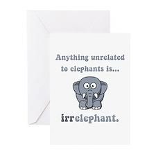 Irrelephant Greeting Cards (Pk of 20)