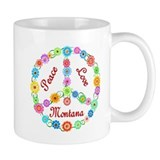 Peace Love Montana Small Mug