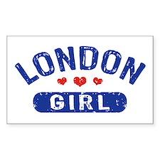London Girl Decal