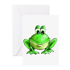 Unique Frog prince Greeting Cards (Pk of 10)