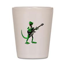 Electric Guitar Gecko Shot Glass