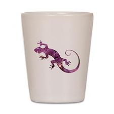Purple Gecko Shot Glass