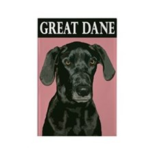 Great Dane Rectangle Magnet (10 pack)