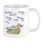 Ring Ring, Hello? Small Mug