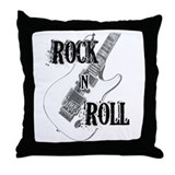 Unique Guitar music Throw Pillow