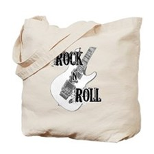 Cute Rock n roll Tote Bag