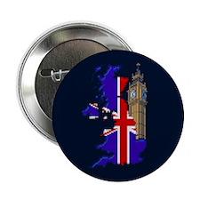 """Pixel UK/Big Ben"" 2.25"" Button (10 pack)"