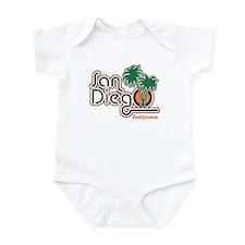 San Diego California Infant Creeper
