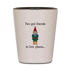 Gnome Friends Shot Glass