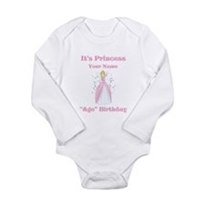 Princess Personalized Birthda Long Sleeve Infant B