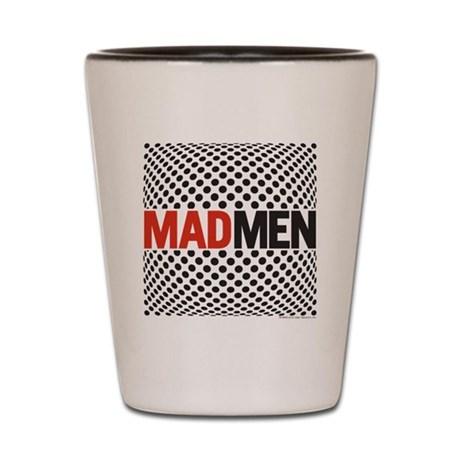Mad Men Pop Art Shot Glass