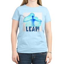Leap! Women's Pink T-Shirt