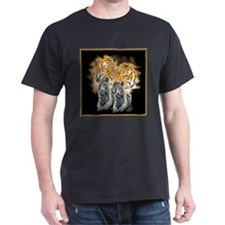 Tiger Love Black T-Shirt