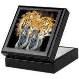 Tiger Love Keepsake Box