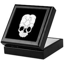 Cats Skull Keepsake Box