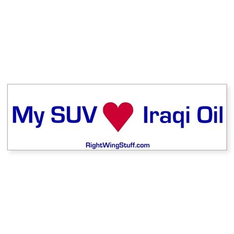 """SUV"" Bumper Sticker"