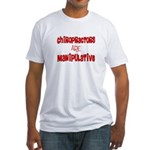 Chiropractor Fitted T-Shirt