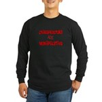 Chiropractor Long Sleeve Dark T-Shirt