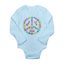 Peace Love Idaho Long Sleeve Infant Bodysuit