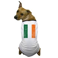 Vintage Irish Flag Dog T-Shirt