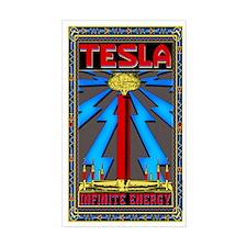 TESLA COIL Bumper Stickers