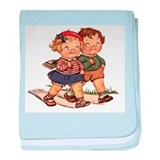 Kids Walking baby blanket