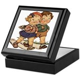 Kids Walking Keepsake Box