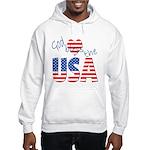 God Bless the USA Hooded Sweatshirt