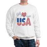 God Bless the USA Sweatshirt