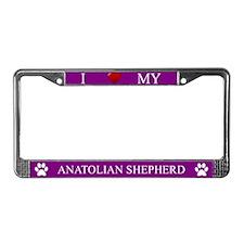 Purple I Love My Anatolian Shepherd Frame