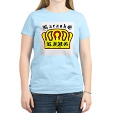 Karaoke King Women's Pink T-Shirt