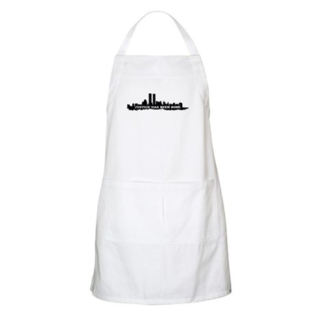 9-11 Justice Has Been Done Apron