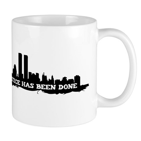 9-11 Justice Has Been Done Mug