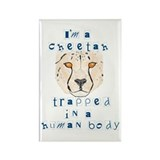 I'm a Cheetah Rectangle Magnet (10 pack)
