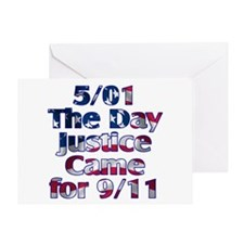 5/01 Justice for 9/11 Greeting Card