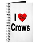 I Love Crows Journal