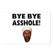 Bye Bye Asshole (Bin Laden) Postcards (Package of