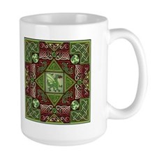 Celtic Dragon Labyrinth Mug
