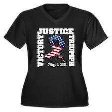 Justice Victory Triumph Women's Plus Size V-Neck D
