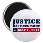 Justice Has Been Done Magnet