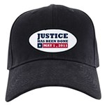Justice Has Been Done Black Cap