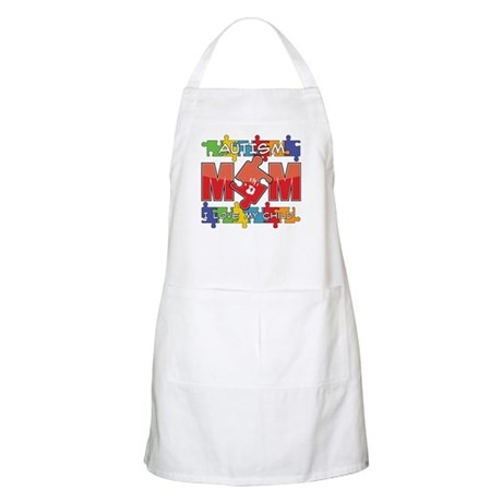 Autism Mom I Love My Child Apron