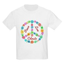 Peace Love Colorado T-Shirt