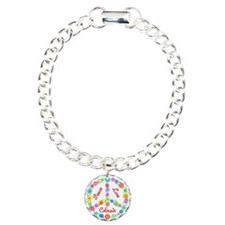 Peace Love Colorado Charm Bracelet, One Charm